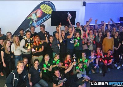 Lasertag Hannover LaserSports Exklusivbuchung