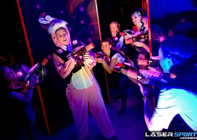 Lasertag Hannover LaserSports Junggesellinnenabschied